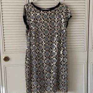 Beautiful sequin dress short sleeve
